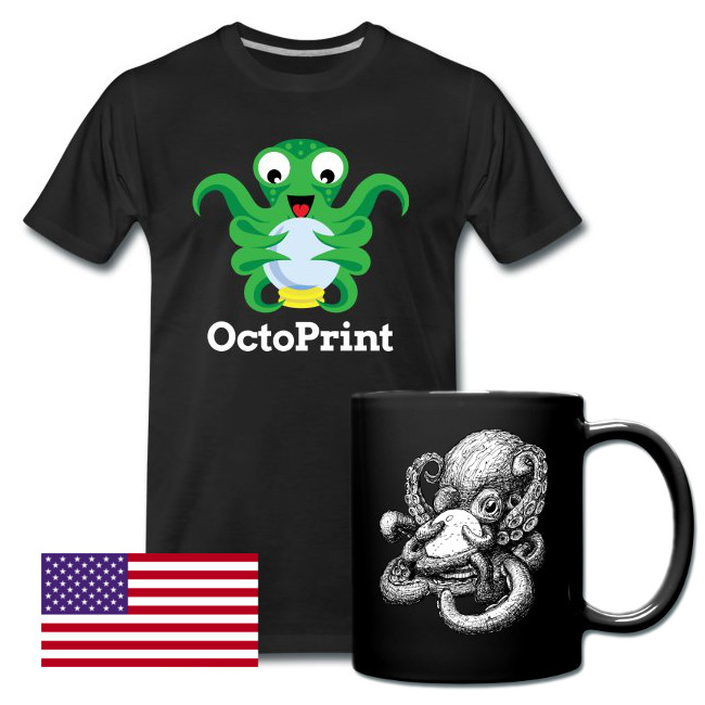Official OctoPrint Merchandise Shop (US)
